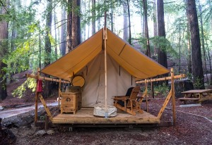Glamping for events camping VIP style team building