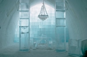 Ice hotel in Lapland for events incentives and conferences